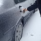 As in, literally iced over. Just watch this video!