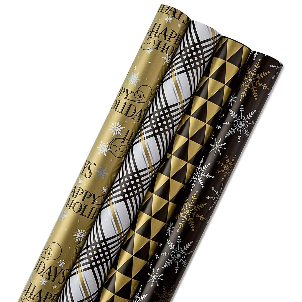 Hallmark Reversible Christmas Wrapping Paper Bundle Best