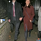 Pippa Stepped Out With Her Husband in the Same Dress in December 2018