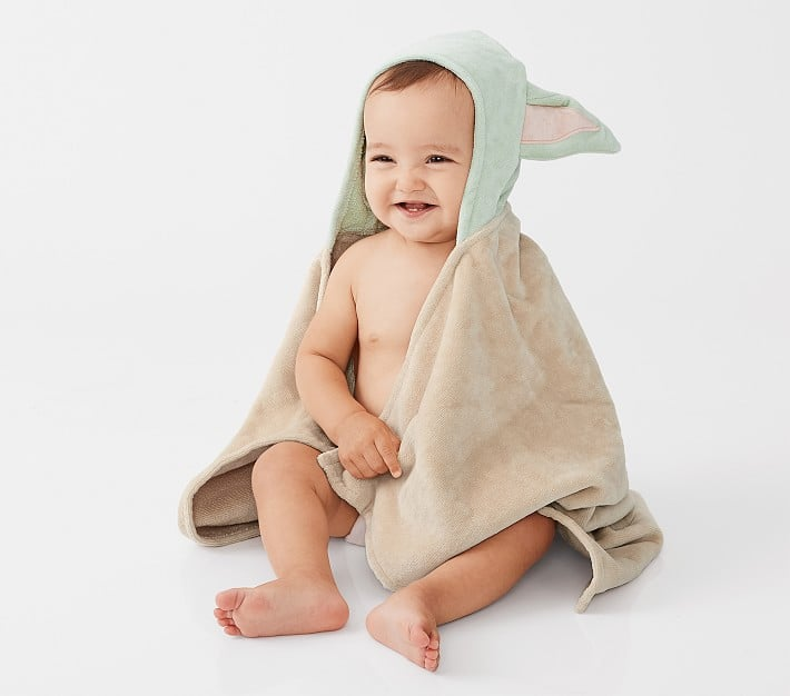 Star Wars The Child Baby Hooded Towel