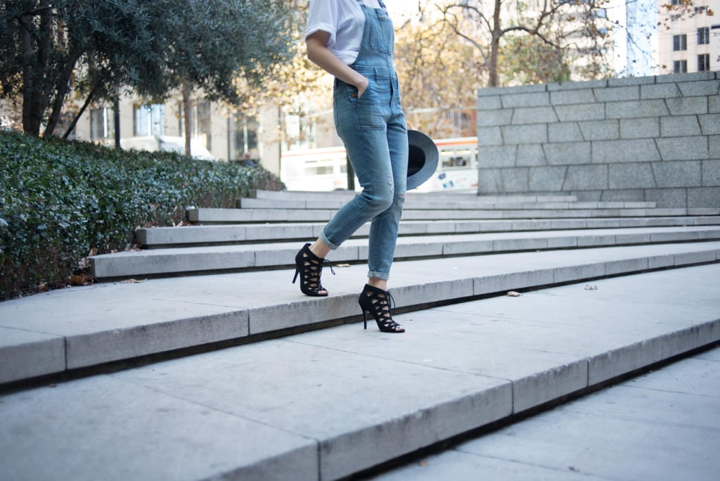 Chic black heels