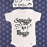 Snuggle This Muggle Onesie and Cap