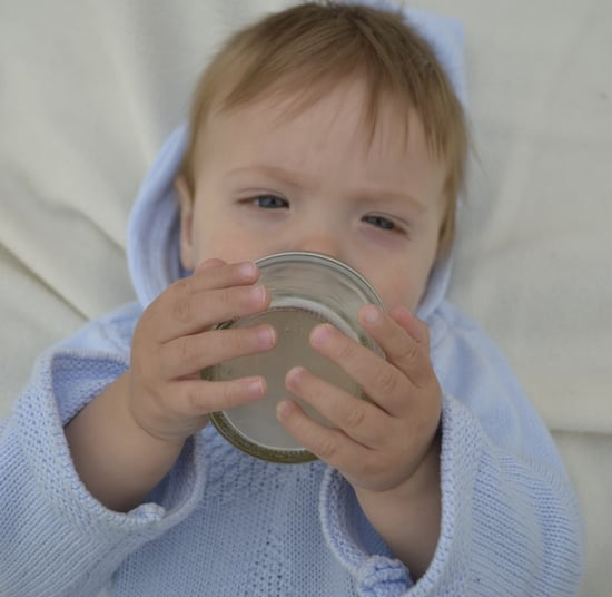 Mason Jar Baby Bottles