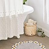 Daisy Crochet Bath Mat
