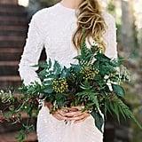 Slytherin-Inspired Wedding Bouquet