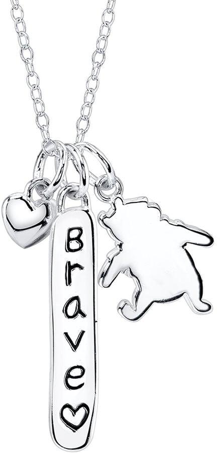040e9e4a6979 Winnie the Pooh Silver-Plated Triple-Charm Necklace
