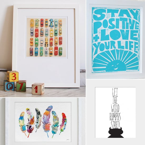Awesome  Adorable Etsy Prints For Your Nursery u All Under