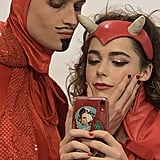 Kiernan Shipka and Luke Cook's Chilling Adventures Costumes