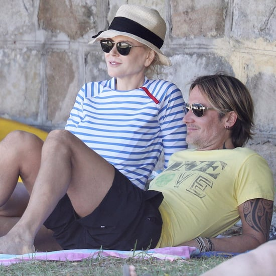Nicole Kidman and Keith Urban at Beach in Sydney 2016