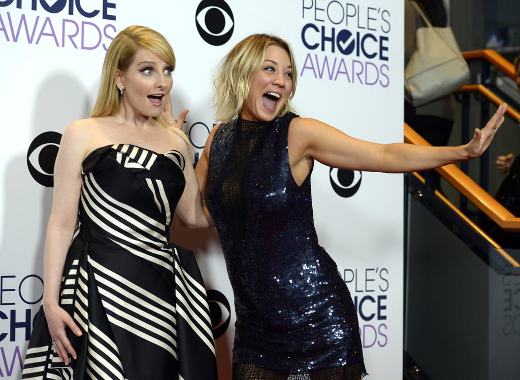 The Big Bang Theorys Kaley Cuoco And Melissa Rauch Celebrated Their