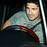 Gerard Butler At Club DeLuxe in LA