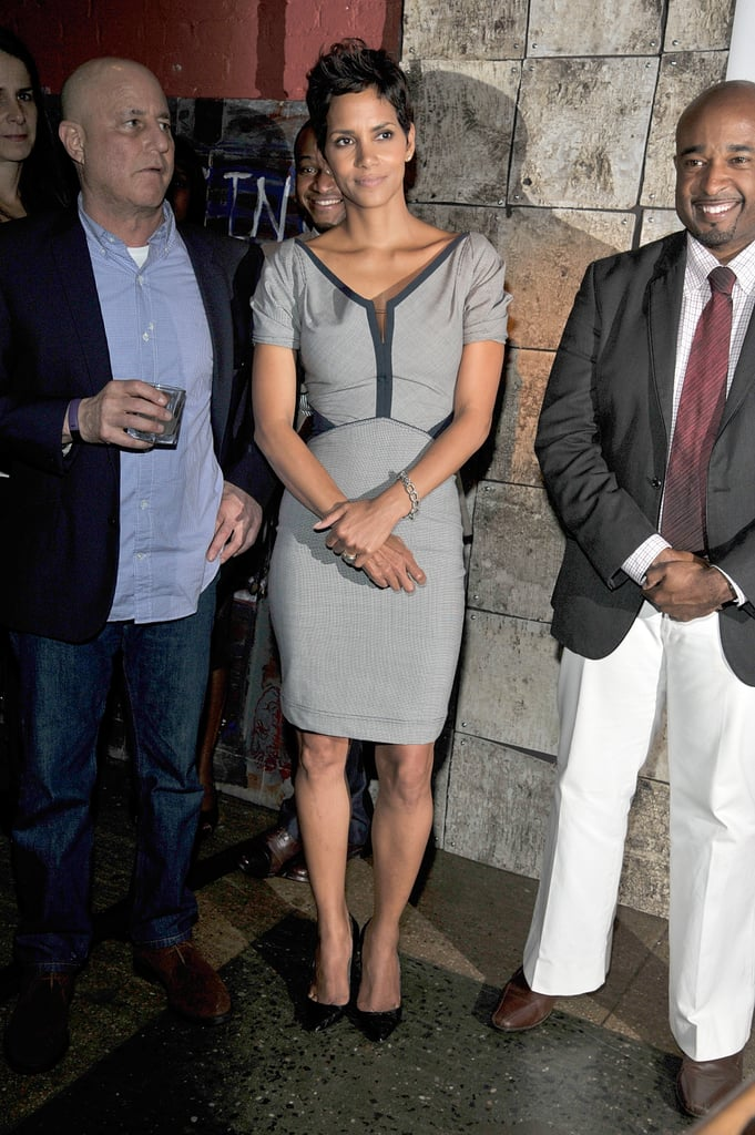Halle Berry dressed up for a good cause in NYC last night. She — along with guests Mariska Hargitay, singer Estelle, and chef Marcus Samuelsson — showed their support at Mayor Michael Bloomberg's dinner benefiting the Family Justice Centers. Ron Perelman, the CEO of Revlon, was also in attendance alongside Halle, who is a spokesmodel for his brand. Halle made the trip east after spending the last few weeks in LA with Nahla. She's a pro at juggling her adorable daughter with work obligations, and that skill will be useful when she starts promoting Dark Tide ahead of its release later this year. Halle might be adding even more to her plate if rumors about her moving to the small screen prove true. Halle is linked to the TV project Higher Learning, a series likely bound for HBO or Showtime that would feature the actress playing a college professor.