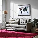 Rivet Mid-Century Modern Tripod Living Room Decor Floor Lamp