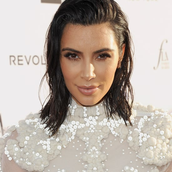 How to Do the Kim Kardashian Wet Hair Trend