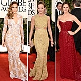 Jennifer Lopez, Emily Blunt, and Jennifer Garner were just a few of the stars who donned embellished dresses this year.