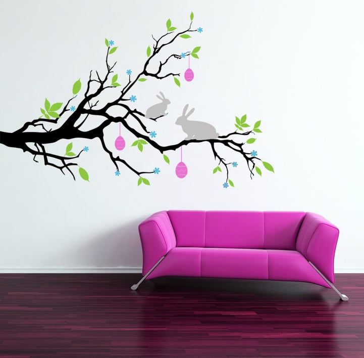 Easter Branch Wall Decal ($45)