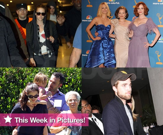 Kristen Stewart, Robert Pattinson, Britney Spears, and More in This Week in Pictures!
