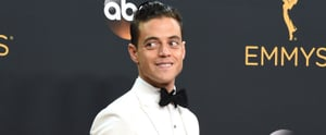 Who Was Rami Malek's Date at the Emmys? Don't Panic, Your Internet Boyfriend Is Still Single