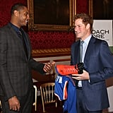 When Prince Harry Met Carmelo Anthony