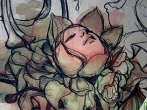 Miuccia Prada's Trembled Blossoms