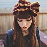 TheKnotandChain Gryffindor Handmade Crochet Hogwarts Harry Potter Bow Headband