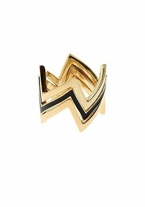 House of Harlow 1960 Three Stack Ring