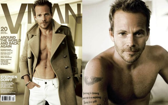 Pictures and Quotes From Stephen Dorff in V MAN