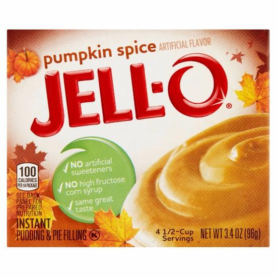 Pumpkin Spice Jell-O Pudding Mix