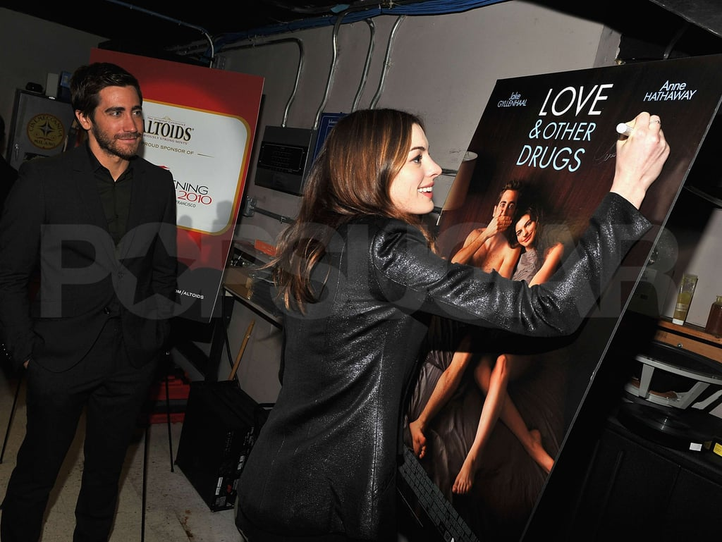 Jake Gyllenhaal and Anne Hathaway at Love and Other Drugs Q&A Session