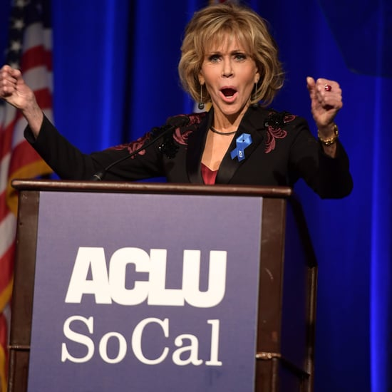 Jane Fonda Praising Colin Kaepernick Quote at ACLU Gala 2017