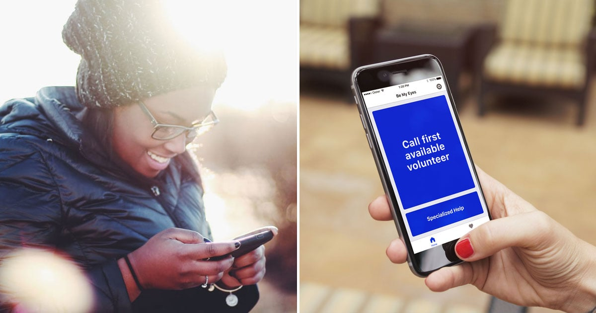 This App Lets You Help People With Low Vision Do Everyday Things, and It's Amazing