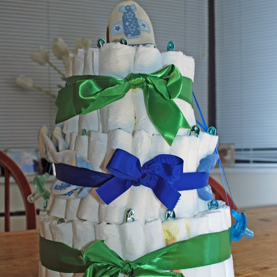Instructions For Making Diaper Cake