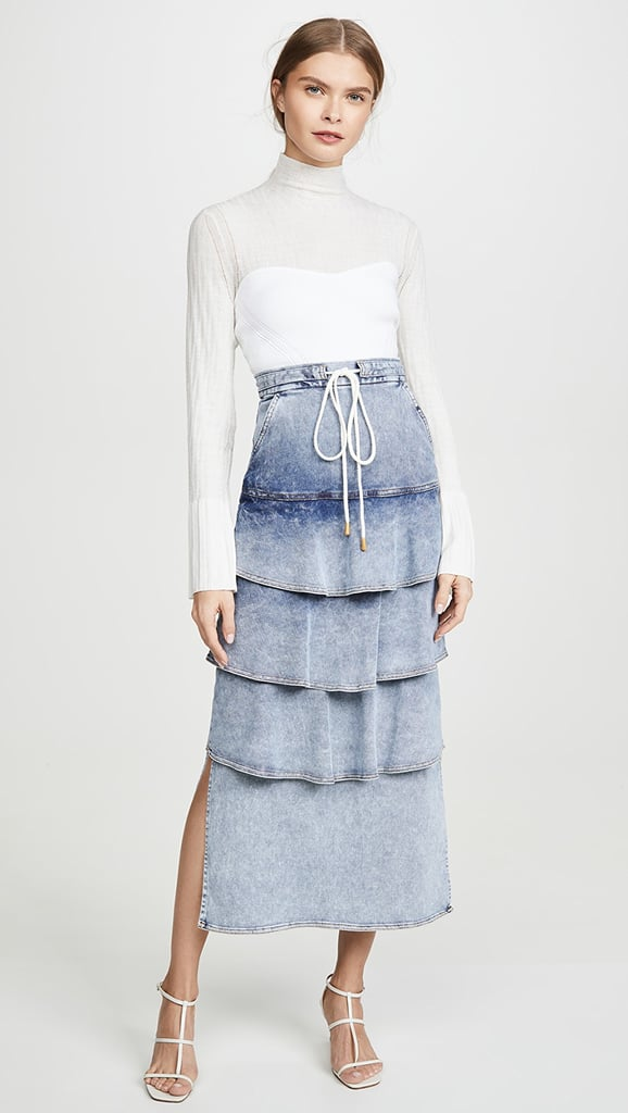 Manning Cartell Australia Bleach Treatment Denim Skirt