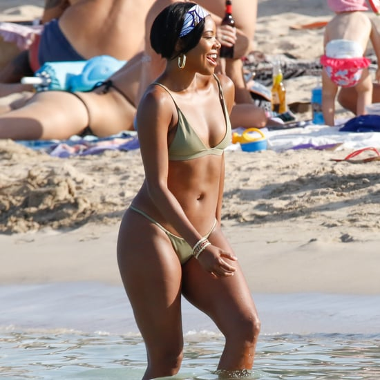 Gabrielle Union Wearing a Bikini in Ibiza June 2018