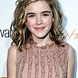 Kiernan Shipka With Blond Highlights in 2012