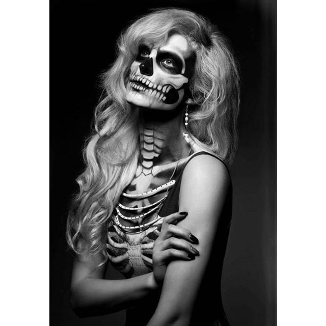 skeleton makeup popsugar beauty - Halloween Skulls