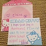 Cartoon stationery is easy to find, and the bright colors will make sure that your note doesn't get overlooked.