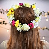 How to Make the Classic Flower Crown