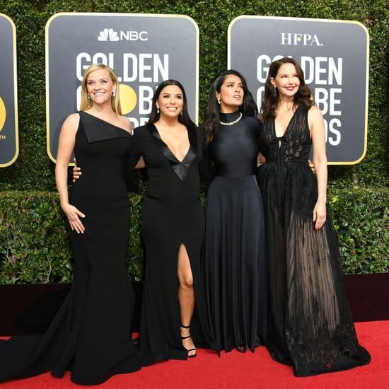 Golden Globes Red Carpet Dresses 2018