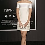 Emma Watson in J. Mendel at 2013 Gravity NYC Premiere