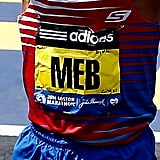 Meb Keflezighi wrote the names of the 2013 Boston Marathon bombing victims on his race bib to carry him through the marathon.