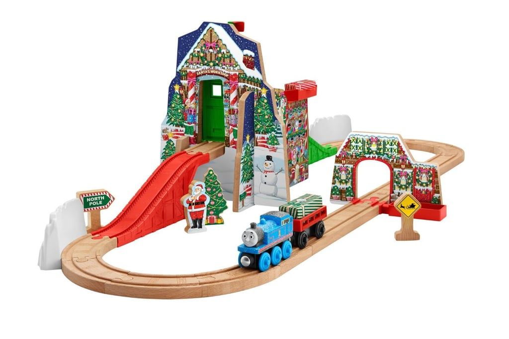 Fisher Price Thomas The Train Wooden Railway Santas Workshop