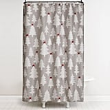 Winter Wonderland Shower Curtain and Hook Set