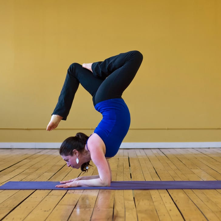 Scorpion With A Broken Tail Advanced Yoga Poses