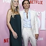 Gwyneth Paltrow and Brad Falchuk at The Politician Premiere