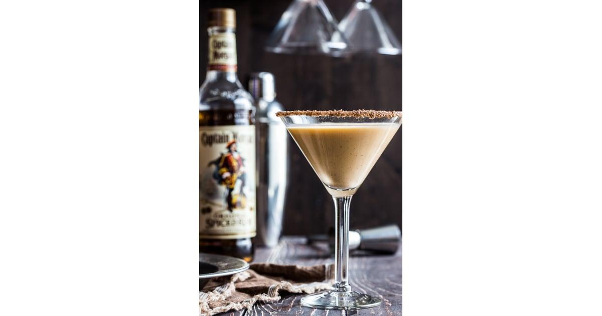 Pumpkin Eggnog Martini | Spiked Eggnog Recipes | POPSUGAR ...