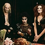 Riff Raff, Dr. Frank-N-Furter, and Magenta in The Rocky Horror Picture Show