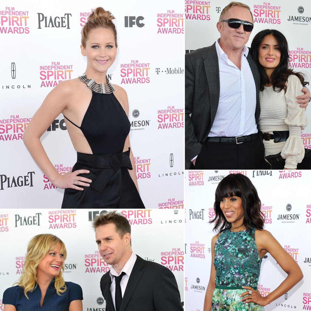 All the Stars Arriving at the Spirit Awards