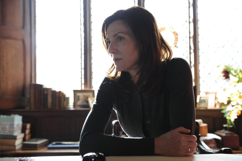 Michelle Fairley guest stars as Margot.