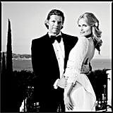 Natasha Poly Weds Businessman Peter Bakker